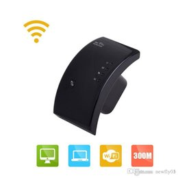 Wholesale Internal Antenna Booster Wholesale - 300Mbps Wireless Range Extender Access Point EEE802.11N 2.4GHz Ethernet Network Wifi Repeater Signal Booster- 3dBi Internal Antennas
