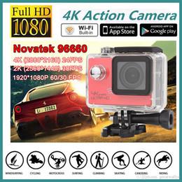 Wholesale Wholesale Used Car Batteries - SJ8000 WiFi Sports Camera 1080P 60fps 16MP Real HD 4K 24FPS Waterproof Action Camera Car bracket Battery Charger 2.0LCD Helmet Video DVR