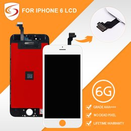 """Wholesale Pixel Inches - AAA+++ For iPhone 6 LCD With Touch Screen Digitizer Screen Replacement Assembly Display 4.7"""" Inch No Dead Pixel"""
