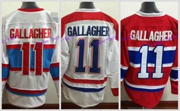 Wholesale montreal canadiens hockey jersey - 2016 Winter Classic Men's Montreal Canadiens #11 Brendan Gallagher Jersey Home Red Away White Gallagher Stitched Hockey Jerseys