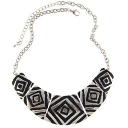 Wholesale Cheap Jewelry Holders - 2016 New Women Fashion Vintage Gold Silver Plated Square Chunky Choker Statement Necklaces Jewelry Cheap jewelry necklace holder