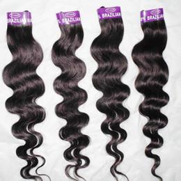 2020 rastas tejen pelo Dreadlocks tejen el pelo barato procesado Indian Human Hair extension 6 unids Body Wave Bundles Precio de venta rastas tejen pelo baratos