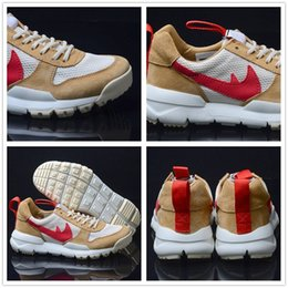 Wholesale Toms Style - Newest Style Athletic Shoes Tom Sachs x Craft Mars Yard 2.0 TS NASA BW Premium USA Maple Air Huarache Running Shoes 36-45