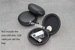 Wholesale Candy Earphone Earbud Headphone - FREE SHIPPING USA UK hard Earphone Storage Carrying Bag Retail Package Headphone Earbud Case Cover For USB Cable Key Coin Mini Zipper Case