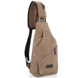 Wholesale Cycling Messenger Bags - Wholesale-2015 retro canvas male messenger bag quality brand men travel crossbody shoulder bag boy's cycling bag free shipping B50506D