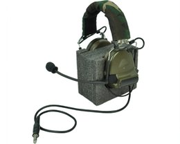 Wholesale Z Tactical Comtac - Element Z-Tactical ComTac II Sordin Noise Reduction Canceling Sound Pickup Tactical Headset without PTT Adapter OD