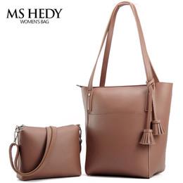 Wholesale Ms Cashmere - Wholesale- MS HEDY New Tassel Big Shoulder Bags Women Crossbody Bag Female Designer Set Handbags High Quality Woman Totes
