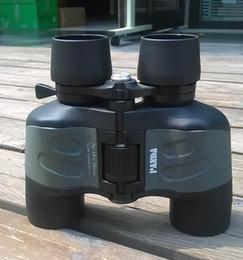 Wholesale Binoculars Glasses - Genuine Panda 30X50 Binoculars BAK4 Binoculos Night Vision Telescopio High Quality Hunting 50mm Telescope glasses