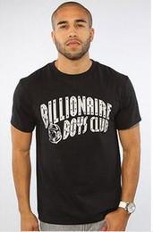 Wholesale Compression Shirts - NEW MEN BILLIONAIRE BOYS CLUB men's T-shirts Hip Hop 100% Cotton men's BBC tshirt sport compression shirt XXL free shipping