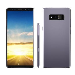 "Wholesale Battery Android Phone - Note8 Quad Core MTK6580 1G RAM 16G ROM 6.3"" Andriod 6.0 8MP Camera 2300mAh Battery Fingerprint 3G WCDMA Unlocked Phone Wholesale"