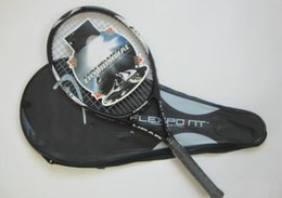 Wholesale Strings Tennis Racket - 2016 New Brand Carbon Professional Tennis Racket Racquet Raquete Carbon Fiber Handle with Strong Flexible Tennis String