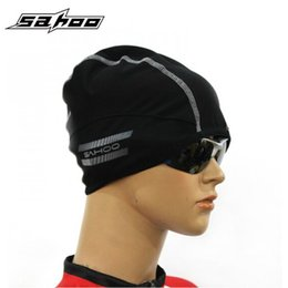 Wholesale Wholesale Winter Ski Hats - Wholesale-SHAOO Brand Winter Hat Warm Windproof Skiing Camping Cycling Cap Elasticity Thermal Outdoor Gorra Bicycle Hat Road MTB Bike Cap