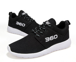 Wholesale Cloths Korean Man - 2017 summer new breathable 360 men 's shoes Korean version of the net cloth casual shoes women' s sports running shoes Couple shoes