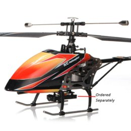 Wholesale Large Electric Remote Helicopters - High Quality WLtoys V912 Large 52cm 2.4Ghz 4Ch Single Blade Remote Control RC Helicopter Gyro RTF