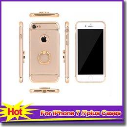 Bello telefono di progettazione online-Per iPhone 7 Custodie iPhone Beautiful Design 3 in 1 con portacellulare portacellulare 5 colori Cover posteriore per iPhone 7 plus