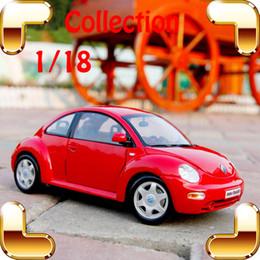 Wholesale Maisto 12 - Cute Gift Maisto Beetle 1:18 Metal Model Sedan Car Mini Collection Vehicle Classic Model Scale Alloy Toys House Decoration