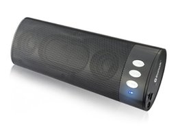 Wholesale Bluetooth Pdas - Portable Bluetooth Speaker Black Support cell phones PDAs MP3 players PCs and laptops 258B Stereo CSR BlueCore 8 A050