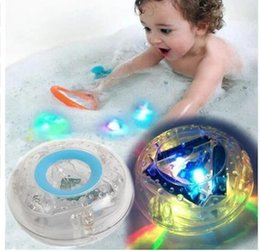 Wholesale Bathroom Fun - Colorful Bathroom LED Light Toys Party In The Tub Toy Bath Water LED Light Kids Waterproof Children Funny Toy Bath Time Fun KKA3197