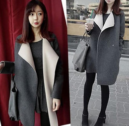 Wholesale Hooded Dress Coats Women - The new season big yards han edition dress cloth coat fall paragraph dust coat grows in paragraph no coat