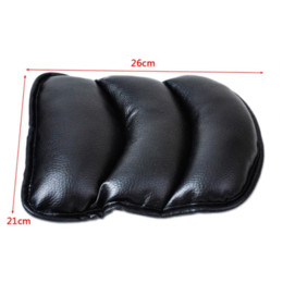 Wholesale Audi A6 Console - Tracking# New Black Car Armrest Console Pad Cover Cushion Support Box Armrest Top Soft Mat For Lada Granta Audi A4 A6 Polo Golf