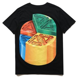 Wholesale Pizza Printed Shirt - Hight quality PALACE Pizza t-shirts men summer skateboard t shirts cotton short sleeve tees streetwear casual tops unisex t-shirts