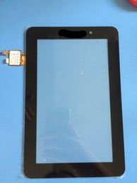 Wholesale Lenovo Ideapad A1 - Wholesale- New 7'' for Lenovo IdeaPad A1 A1-07 a1-07 Touch Screen Digitizer Sensor Glass Panel BLACK color IN STOCK free shipping