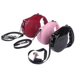 Wholesale Retractable Dog Leash Large - Retractable Pet Leash Lead Extendable Training Lead for Dogs Cats Small Medium Large 5M 3M E2shopping