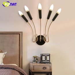 Wholesale Sconce Chrome - Brief Wall Sconce Rose Gold Gold Chrome Fashion Wall Lamp Living Room Corridor Lightings Hotel Project Lamp
