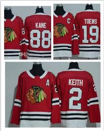Novo estilo 19 Jonathan Toews 88 Patrick Kane 2 temporada Duncan Keith 2017-2018 Nova chicago blackhawks Jersey Hocekey Jerseys Costurado de Fornecedores de nhl hóquei vancouver jersey