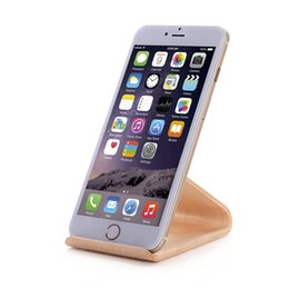 Wholesale Iphone Samdi - 2016 New Original SAMDI Wood Holder Stand for iPhone 6 6plus for Samsung Note3 Note4 S4 S5 and all more than 5 inch Mobile Phone