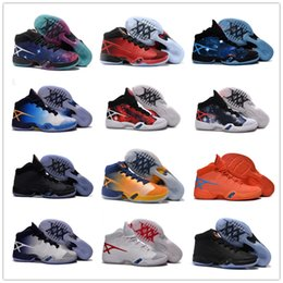Wholesale Blue Yellow China - 2016 Cheap Sale China 30 Retro Men's Basketball Shoes Mens Top quality Star 30s XXX Westbrook Airs Sports Training Sneakers US Size 7-12