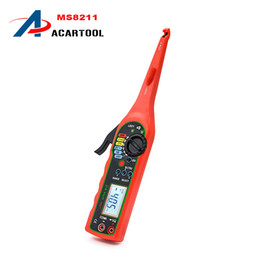 Wholesale Multimeter Circuits - new arrival Auto Circuit Test MS8211 Digital Multimeter Tester tool MS8211 Digital Multimeter Function tester tool free shipping