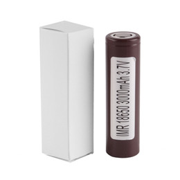 Wholesale Newest Mods - Newest HG2 25R 30q 18650 battery INR Battery 3.7V 20A Rechargable Lithium For E Cig Box Mod with 3000mah 3400mah 2500mah
