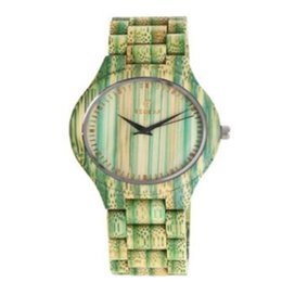 Wholesale Hour Hand Men - The New Men Women Color Wooden Watch 3 Color Fashion Trend Creative Daily Waterproof Hour Hand Mechanical Watch Natural Bamboo