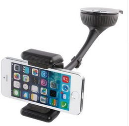Wholesale Cell Phone Charger Speaker - Retail 1PCS multi-function Universal Bluetooth Hands free Stand Car Phone Holder BT8112 Car Charger Speaker for iPhone HTC Cell phones