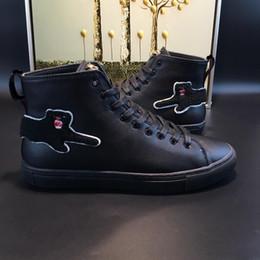 botas italianas hombres botas Rebajas Botas de moda de los hombres de primavera y otoño marca de lujo zapatos para hombre diseñador italiano estilo botas casuales modelo 184062906