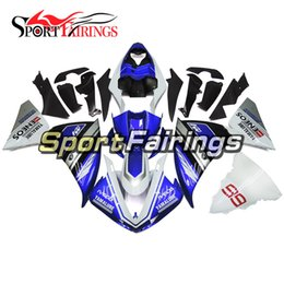 Wholesale Motorcycle Fairings Yamaha R1 - Injection Fairings For Yamaha YZF 1000 R1 2009 2010 2011 2012 2014 YZF-R1 2009 - 2014 ABS Motorcycle Fairing Kit Cowlings IVECO 99 Blue