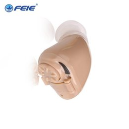 Wholesale Invisible Hearing Aids - 2016 Feie s-218 medical ear headphones for deaf cheap wholesale invisible mini hearing aid Free Shipping