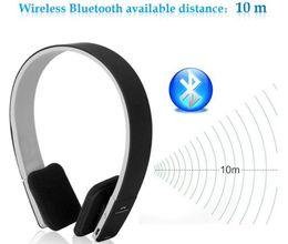 Wholesale Ipad Headset Microphone - 10pcs customization 3.5mm Noise Cancelling Studio wireless Bluetooth Stereo Headphones Earphones Microphone Headsets For Apple ipad Computer