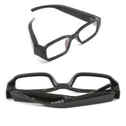 Wholesale Eyewear Spy Sunglasses Camera - 32GB 720P Hidden Mini glasses Camera Mini Sunglasses Camera Eyewear camera video recoder Portable Mini Spy Gadgets