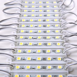 2020 illuminazione principale pubblicitaria DC12V 5050 5LEDs Moduli LED luci IP65 impermeabili, moduli di retroilluminazione a LED, moduli light box pubblicitari, 20 pezzi / lotto illuminazione principale pubblicitaria economici