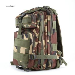 Wholesale Rugby Package - Practical popular outdoor sports camouflage backpacks Military enthusiasts climbing package on foot Backpack shoulders 3 p tactics DHL free