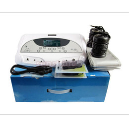 Wholesale Far Spa - wholesale Dual Detox Cell Foot Spa Machine Ion Spa Detox Machine with FAR infrared belt two person use
