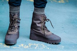 Wholesale Classic Leather Boots For Men - 950 Boost Moonrock Pirate Black Boots For Women Men Kanye West Shoes Classic Sports shoes Fashion Casual Sneaker 36-46