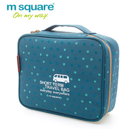 Wholesale Beauty Wash Toiletry Bag - M Square Women Cosmetic Bag Organizer Travel Storage Wash Toiletry Bags Beautician Makeup Organizer Pouch Beauty Make Up Cases