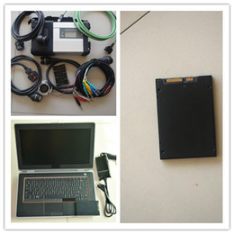 Wholesale Used Diagnostic Tools - mb star c4 2017 diagnostic tool with software 240gb ssd with for dell e6420 laptop (i5 4g) ready to use one years warranty