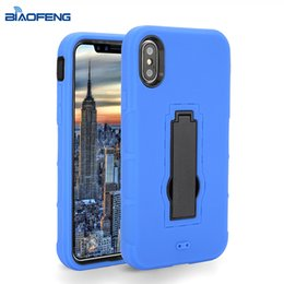Wholesale Wholesale Boost Mobile Phones - Customized Phone Case For ZTE Cell Phone Covers For Tempo X N9137 [Boost Mobile] With Kickstand