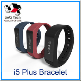 Wholesale Calories Heart Rate - I5 plus Smart Wristbands OLED 0.91 inch Screen IP65 Waterproof Bluetooth 4.0 TPU Watchband Passometer Calorie Anti-Lost Function VS TW64