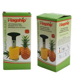 2019 affettatrici di corer ananas di frutta in acciaio inox Coltello per ananas Affettatrice per frutta Affettatrice Utensili per sbucciare Utensili da cucina Utensili da cucina Utensili da cucina affettatrici di corer ananas di frutta in acciaio inox economici