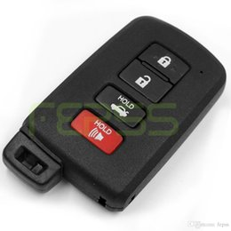 Wholesale camry remote key - New Smart Remote Key Shell Case Fob 4 Button for Toyota Camry Avalon RAV4